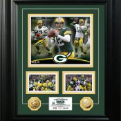 "Aaron Rodgers ""Marquee"" Gold Coin Photo Mint"