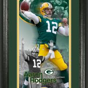 "Aaron Rodgers ""Supreme"" Bronze Coin Panoramic Photo Mint"