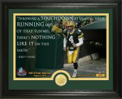 "Brett Favre 2016 Pro Football HOF Induction ""Quote"" Bronze Coin Photo Mint"