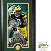 Ha Ha Clinton-Dix Supreme Bronze Coin Photo Mint