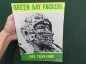 Green Bay Packers 1961 Yearbook