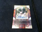 Green Bay Packers Paul Hornung Autographed Legendary Contenders Football Card