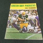 1963 Green Bay Packer Yearbook