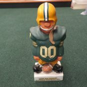 Scarce Early 1960s Fred Kail Green Bay Packers Large Coin Bank