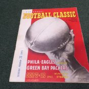 1945 Green Bay Packers Philadelphia Eagles Program Municipal Stadium