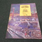 1951 Green Bay Packers San Francisco 49ers Program Kezar Stadium