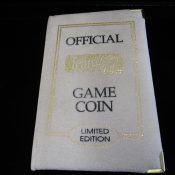 Super Bowl 31 Green Bay Packers 1 Ounce .999 Silver Coin With Book