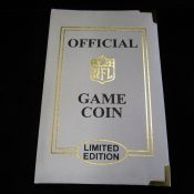 Super Bowl 45 Official Game Coin Green Bay Packers Pittsburgh Steelers