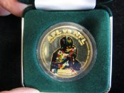 Scarce Super Bowl One AFL-NFL .999 One Ounce Silver Coin #690