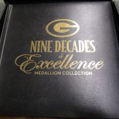 Green Bay Packers 9 Decades Of Excellence Medal Collection