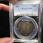 1831 United States Bust Half Dollar PCGS VF35