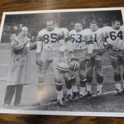 Vintage 1960s Green Bay Packers Autographed Photo McGee Thurston Ringo Kramer