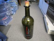 "Scarce Three Liter Size Autographed Charles Woodson ""Twentyfour"" Wine Bottle"