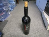 "Charles Woodson ""Twentyfour"" Autographed 750ml Wine Bottle"