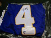 "Minnesota Vikings Brett Favre Autographed Reebok ""Authentic"" Jersey"