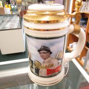 Green Bay Packers Vince Lombardi Budweiser Beer Stein Wisconsin Hero