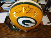 "Full Size ""On Field"" Green Bay Packers Charles Woodson Autograph"