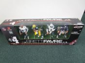 "Scarce McFarlane Brett Favre ""Through The Years"" 4 Piece Set MIB"