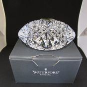Waterford Crystal Football Brett Favre #4 With Original Box