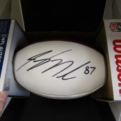 Green Bay Packers Jordy Nelson Autographed Football With COA