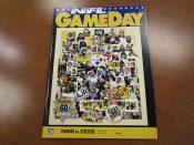 Green Bay Packers vs. Pittsburgh Steelers Game Program Favre's 1st Start
