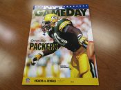 Green Bay Packers Vs. Cincinnati Bengals Game Program Favre's 1st TD Pass