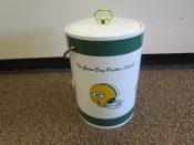 Green Bay Packers Lambeau Lombardi Vinyl Ice Bucket Circa 1972