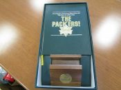 Green Bay Packers 75th Anniversary Limited Edition Book With HOF Autographs
