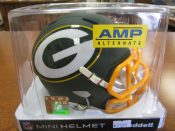 Green Bay Packers Matte Dark Green Amp Alternate Mini Helmet
