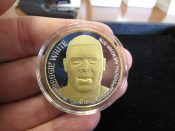 Green Bay Packers Titletown Forever 1 Ounce Silver Coin Reggie White
