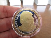 Green Bay Packers Bart Starr Titletown Forever 1 Ounce Silver Coin