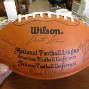 1980 Green Bay Packers Facsimile Autographed Team Signed Football