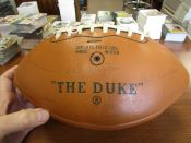 """1969 Green Bay Packers Facsimile """"Stamped"""" Team Autographed Football"""