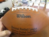 "1992 Green Bay Packers Facsimile Signed ""Stamped"" Autographed Team Football"
