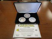 Liberty Mint Green Bay Packers Three Coin Super Bowl Championship Set