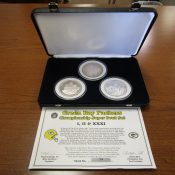 Liberty Mint Green Bay Packers Three Coin Super Bowl Championship Set