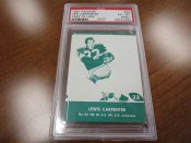 Scarce Lake To Lake Green Bay Packers Lew Carpenter Football Card PSA 6