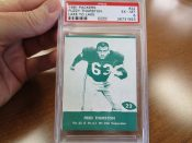 Scarce Lake To Lake Green Bay Packers Fuzzy Thurston Football Card PSA 6