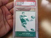 Scarce Lake To Lake Green Bay Packers Boyd Dowler Football Card PSA 6