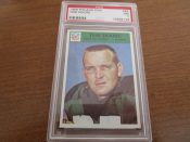 1966 Philadelphia Football Card #86 Green Bay Packers Tom Moore PSA 7