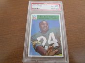 1966 Philadelphia Football Card #90 Green Bay Packers Willie Wood PSA 8