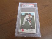 1955 Johnstons Cookies Baseball Card Milwaukee Braves Jim Wilson PSA 5