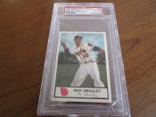 1955 Johnstons Cookies Milwaukee Braves Roy Smalley Baseball Card PSA 6
