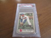 1955 Johnstons Cookies Milwaukee Braves Danny O'Connell Baseball Card PSA 5