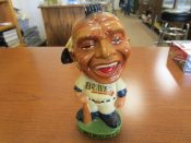 Vintage Early 1960s Milwaukee Braves Baseball Mascot Bobblehead Doll
