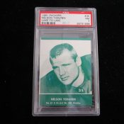 Scarce 1961 Lake To Lake Green Bay Packers Nelson Toburen Football Card PSA 7
