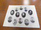 1918 Green Bay City Football Team Original Stiller Photo
