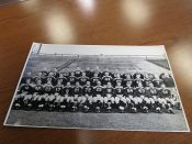 1945 Green Bay Packers Football Team Original Stiller Photo