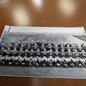 1945 Green Bay Packers Football Team Original Stiller Photo